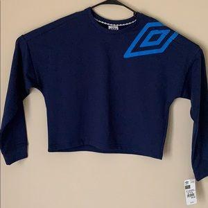 Umbro Cropped Sweatshirt